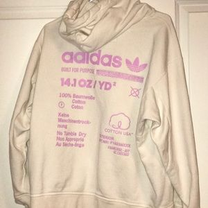 Adidas breast cancer awareness month  sweatshirt